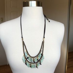 NEW Anthropologie Turquoise Necklace